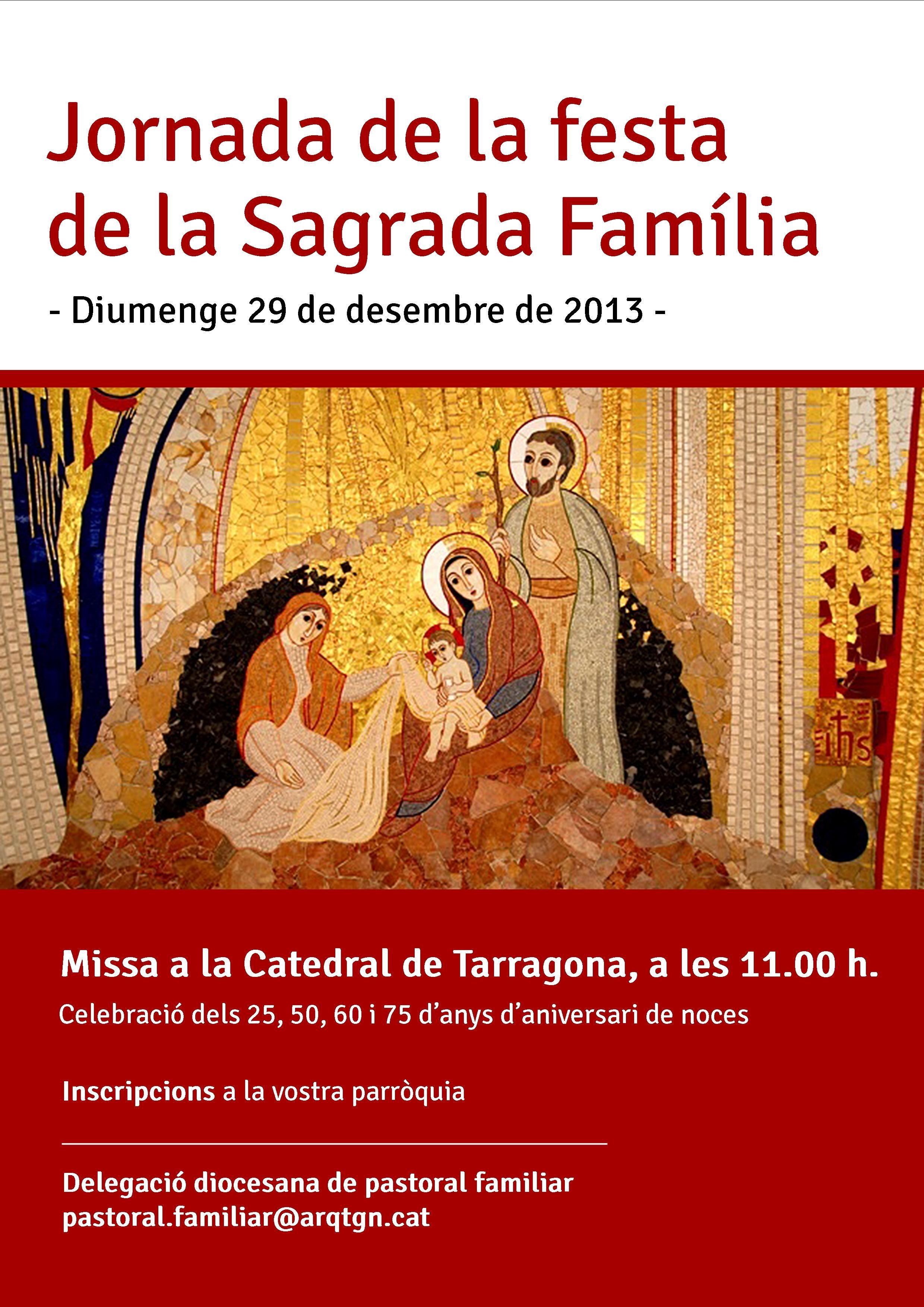 Jornada de la Festa de la Sagrada Família